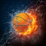 Basketball-On-Fire