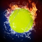 Tennis-Ball-On-Fire